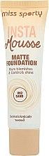 Düfte, Parfümerie und Kosmetik Mattierende Foundation - Miss Sporty Insta Mousse Matte Foundation
