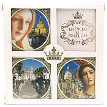 Düfte, Parfümerie und Kosmetik Naturseifen-Geschenkset - Essencias De Portugal Religious Collection (4x50g)