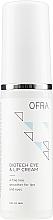 Düfte, Parfümerie und Kosmetik Augen- und Lippencreme - Ofra Biotech Eye & Lip Cream