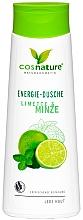 Düfte, Parfümerie und Kosmetik Erfrischendes Duschgel mit Minze und Limette - Cosnature Shower Gel Energy Mint & Lime
