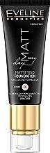 Düfte, Parfümerie und Kosmetik Foundation - Eveline Cosmetics Matt My Day Mattifying Foundation