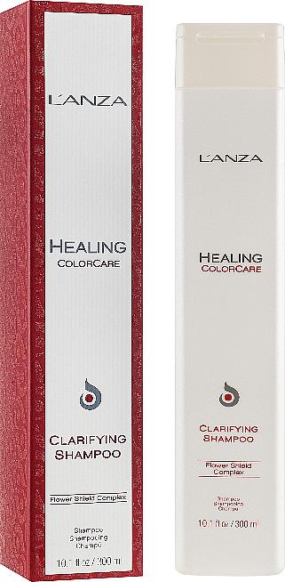 Reinigungsshampoo für coloriertes Haar - L'Anza Healing ColorCare Clarifying Shampoo