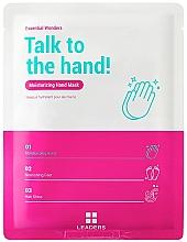 Düfte, Parfümerie und Kosmetik Aufweichende und feuchtigkeitsspendende Handmaske für trockene und raue Hände - Leaders Essential Wonders Talk To The Hand! Mask