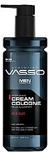 Düfte, Parfümerie und Kosmetik After Shave Creme Kick Start - Vasso Professional Men After Shave Cream Cologne Kick Start