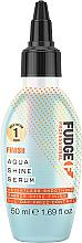 Düfte, Parfümerie und Kosmetik Aufweichendes Haarserum für mehr Glanz - Fudge Aqua Shine Serum