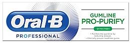 Düfte, Parfümerie und Kosmetik Erfrischende Zahnpasta mit Pfefferminzgeschmack - Oral-B Professional Gumline Pro-Purify Extra Fresh Toothpaste