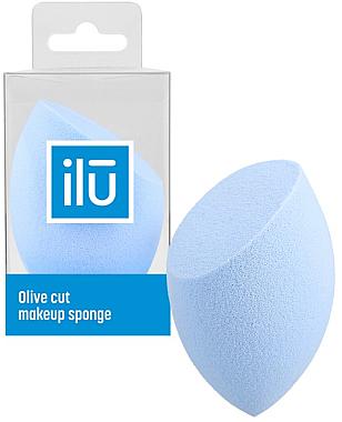 Schminkschwamm blau - Ilu Sponge Olive Cut Blue