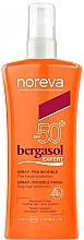 Düfte, Parfümerie und Kosmetik Sonnenschutzspray SPF 50+ - Noreva Bergasol Expert Spray Invisible Finish SPF50+