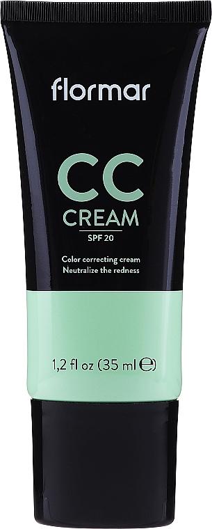 CC Creme gegen Hautrötungen SPF 15 - Flormar CC Cream Anti-Redness