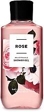 Düfte, Parfümerie und Kosmetik Bath and Body Works Rose - Parfümiertes Duschgel mit Sheabutter und Vitamin E