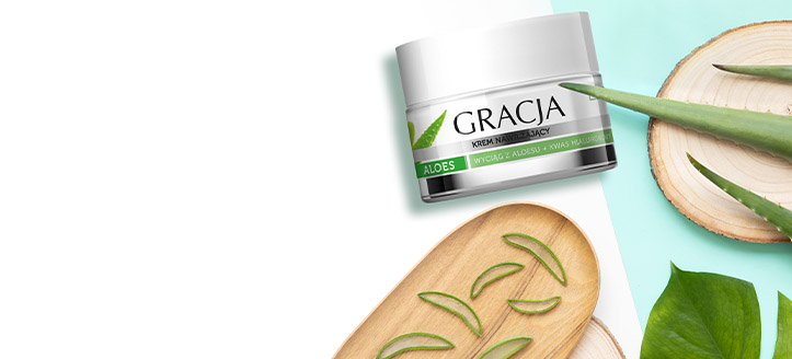 Freu dich über eine Feuchtigkeitscreme gratis zu deiner Bestellung von Gracja Produkten ab CHF 9