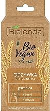 Düfte, Parfümerie und Kosmetik Schützender und pflegender Nagelconditioner mit Weizenproteinen für schwache und geschädigte Nägel - Bielenda Bio Vegan Nail Care Wheat