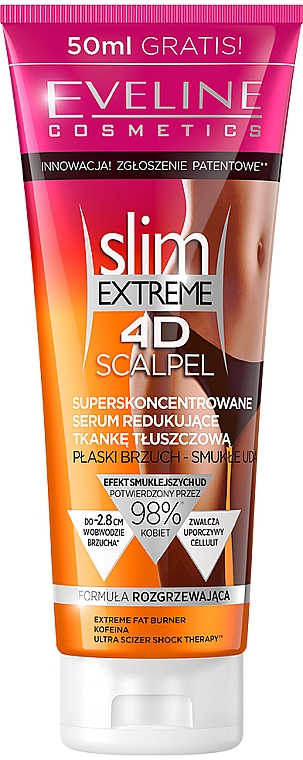 Anti-Cellulite Serum Superkonzentrat - Eveline Cosmetics Slim Extreme 4D Scalpel