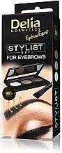 Düfte, Parfümerie und Kosmetik Augenbrauen Lidschatten-Palette - Delia Cosmetics Eyebrow Expert Stylist Set