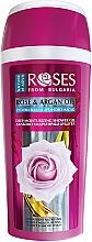 Düfte, Parfümerie und Kosmetik Tief feuchtigkeitsspendendes Duschgel mit Arganöl und Rosenwasser - Nature of Agiva Roses Rose & Argan Oil Deep Moisturizing Shower Gel
