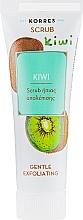 Düfte, Parfümerie und Kosmetik Sanftes Gesichtspeeling mit Kiwisaft - Korres Kiwi Gentle Exfoliating Scrub