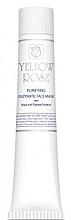 Düfte, Parfümerie und Kosmetik Tiefenreinigende enzymatische Gesichtsmaske für fettige und Mischhaut mit Hefe- und Papayaextrakt - Yellow Rose Purifying Enzymatic Face Mask (Tube)