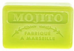 Düfte, Parfümerie und Kosmetik Handgemachte Naturseife mit Mojito-Duft und Sheabutter - Foufour Savonnette Marseillaise Mojito