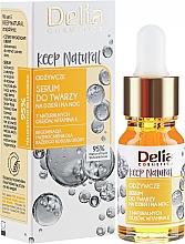 Düfte, Parfümerie und Kosmetik Nährendes und regenerierendes Gesichtsserum für Tag und Nacht mit Vitamin E - Delia Cosmetics Keep Natural Nourishing Serum