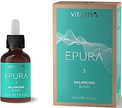 Düfte, Parfümerie und Kosmetik Talgregulierendes Konzentrat für fettige Kopfhaut - Vitality's Epura Balancing Blend