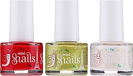 Düfte, Parfümerie und Kosmetik Nagellack 3 St. - Snails Festive Mini