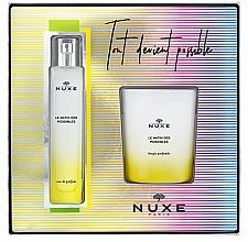 Düfte, Parfümerie und Kosmetik Nuxe Le Matin Des Possibles - Duftset (Eau de Parfum 50ml + Parfümierte Kerze 140g)