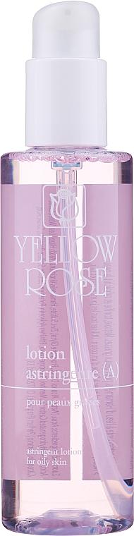 Adstringierende Gesichtslotion für fettige Haut - Yellow Rose Lotion Astringente A