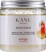 Düfte, Parfümerie und Kosmetik Peeling do ciała Mango - Kanu Nature Mango Body Scrub