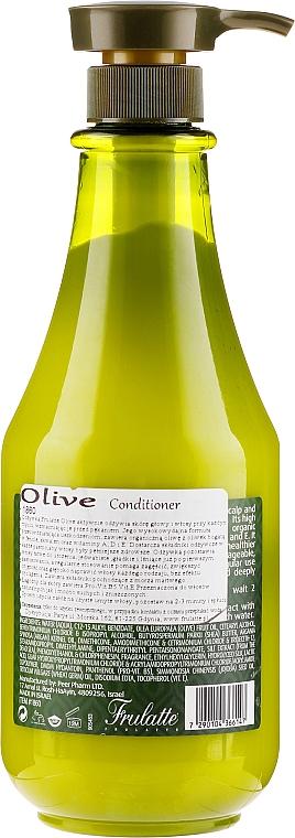 Conditioner mit Olivenöl für trockenes und geschädigtes Haar - Frulatte Olive Conditioner Dry & Damaged — Bild N2