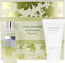 Düfte, Parfümerie und Kosmetik Angel Schlesser Eau De Cologne Bergamota - Duftset (Eau de Cologne 100ml + Duschgel 150ml)
