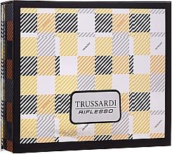 Düfte, Parfümerie und Kosmetik Trussardi Riflesso - Duftset (Eau de Toilette 50ml + 2in1 Shampoo und Duschgel 100ml)