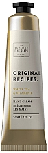 Düfte, Parfümerie und Kosmetik Handcreme Weißer Tee & Vitamin E - Scottish Fine Soaps Original Recipes White Tea & Vitamin E Hand Cream