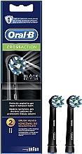 Düfte, Parfümerie und Kosmetik Austauschbare Zahnbürstenköpfe für elektrische Zahnbürste Cross Action CA EB50 Black Edition - Oral-B
