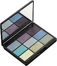 Düfte, Parfümerie und Kosmetik Lidschattenpalette - Gosh 9 Shades Eye Palette