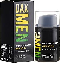 Düfte, Parfümerie und Kosmetik Regenerierende Anti-Aging Gesichtscreme für Männer - DAX Men
