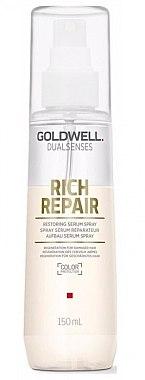Serum-Spray für trockenes, geschädigtes und gestresstes Haar - Goldwell Dualsenses Rich Repair Restoring Serum Spray