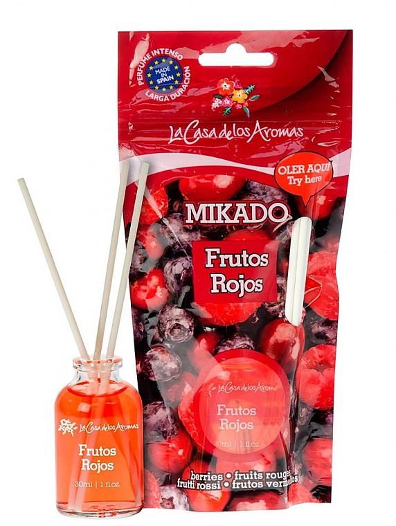 Aroma-Diffusor Rote Beeren - La Casa de Los Aromas Mikado Reed Diffuser