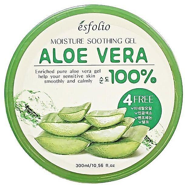 Feuchtigkeitsspendendes und beruhigendes Gesichtsgel mit Aloe Vera - Esfolio Moisture Soothing Gel Aloe Vera 100% Purity