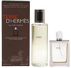 Düfte, Parfümerie und Kosmetik Hermes Terre d'Hermes Eau Tres Fraiche - Duftset (Eau de Toilette 125ml + Eau de Toilette 30ml)