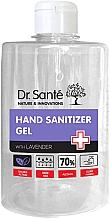 Düfte, Parfümerie und Kosmetik Antibakterielles Händedesinfektionsgel mit Lavendelduft - Dr. Sante Antibacterial Hand Sanitizer Gel With Lavender