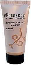 Düfte, Parfümerie und Kosmetik Foundation für einen samtigen Teint - Benecos Natural Creamy Foundation Make-Up