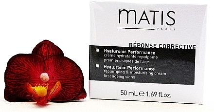 Anti-Aging Gesichtscreme mit Hyaluronsäure - Matis Reponse Corrective Hyaluronic Performance Cream — Bild N2