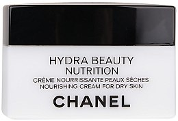 Düfte, Parfümerie und Kosmetik Schützende Gesichtscreme für trockene und empfindliche Haut - Chanel Hydra Beauty Nourishing and Protective Cream