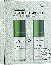 Düfte, Parfümerie und Kosmetik Straffende und beruhigende Anti-Aging Gesichtsampulle mit Centella Asiatica für mehr Hautelastizität - IsNtree Cica Relief Ampoule