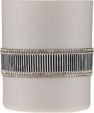 Düfte, Parfümerie und Kosmetik Duftkerze im Glas Crystal Black, schwarz und grau - Artman Crystal Black Glass Scented Candle Ø8xH9.5cm