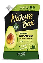 Düfte, Parfümerie und Kosmetik Haarshampoo mit Avocadoöl - Nature Box Avocado Oil Shampoo Refill Pack (Refill)