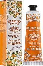 Düfte, Parfümerie und Kosmetik Handcreme mit Mandel, Honig und Sheabutter - Institut Karite Almond And Honey Hand Cream