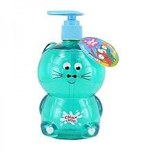 Düfte, Parfümerie und Kosmetik Bade- und Duschgel für Kinder mit Vanilleeis-Duft Katze - Chlapu Chlap Bath & Shower Gel