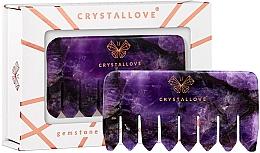 Düfte, Parfümerie und Kosmetik Massage-Haarkamm aus Amethyst - Crystallove