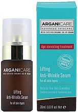 Anti-Falten Liftingserum für das Gesicht - Arganicare Lifting Anti-Wrinkle Serum — Bild N2